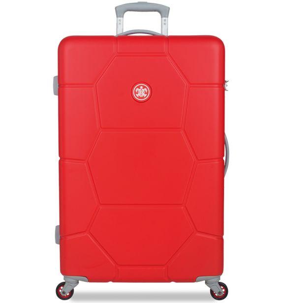 Cestovní kufr SUITSUIT® TR-1243/3-L ABS Caretta Fiery Red