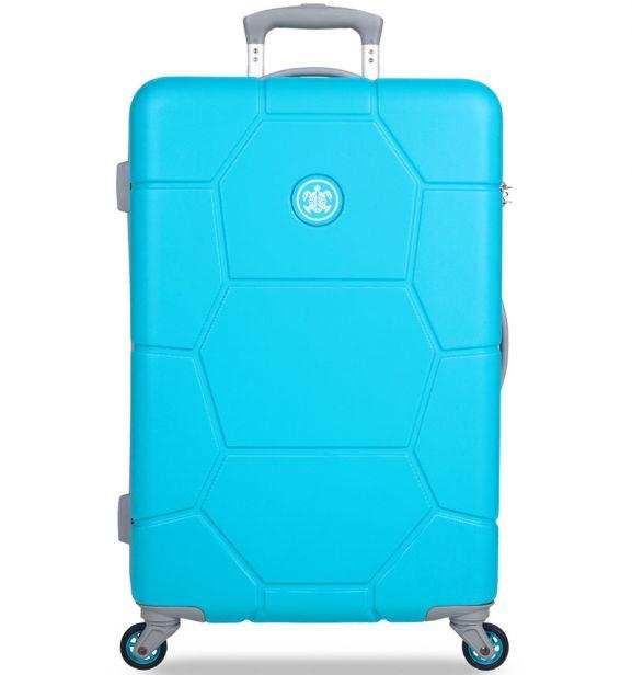 Cestovní kufr SUITSUIT® TR-1244/3-M ABS Caretta Ocean Blue