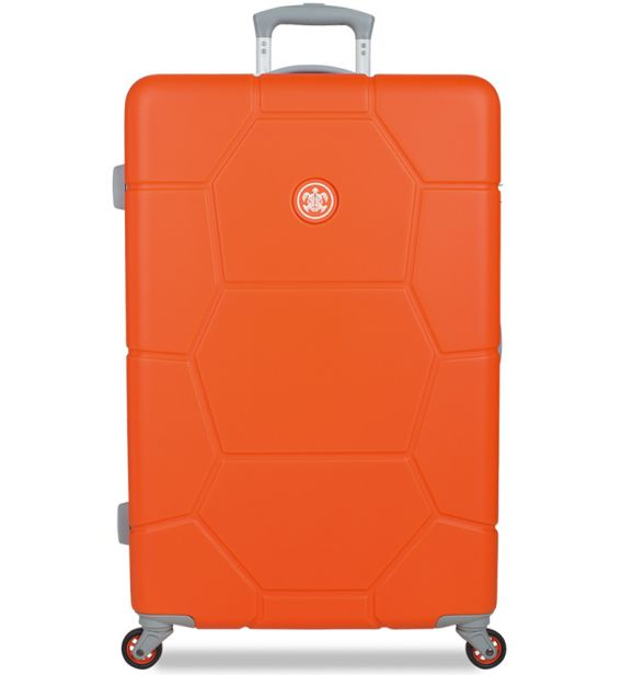 Cestovní kufr SUITSUIT® TR-1245/3-L ABS Caretta Popsicle Orange