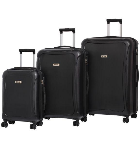 Sada cestovních kufrů ROCK TR-0158/3 DUR - černá