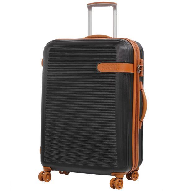 Cestovní kufr ROCK TR-0159/3-L ABS - černá