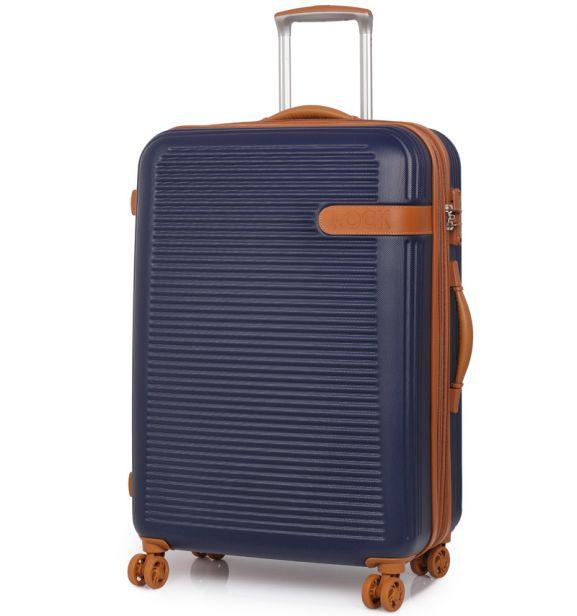 Cestovní kufr ROCK TR-0159/3-L ABS - modrá