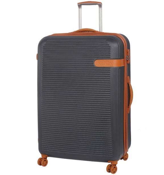 Cestovní kufr ROCK TR-0159/3-XL ABS - charcoal