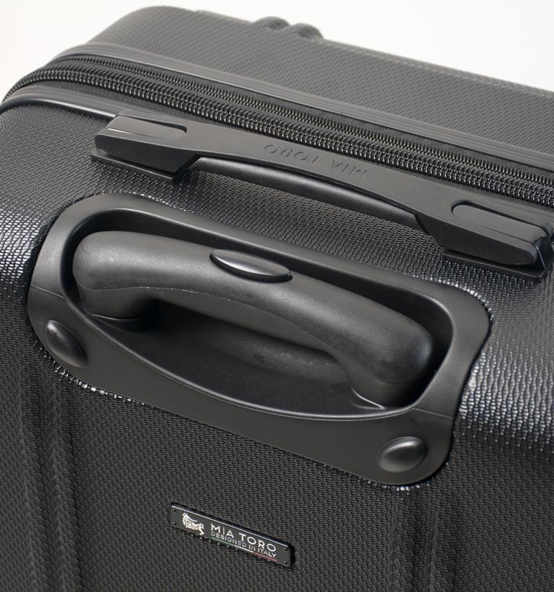 663e8d0f918 Cestovní kufr MIA TORO M1210 3-M - stříbrná